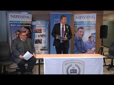 New ownership of the Bracebridge Campus of Nipissing University