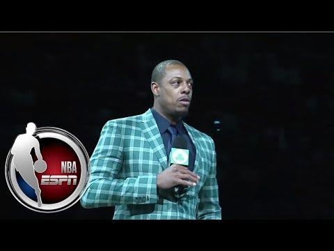 Paul Pierce's Jersey Retirement Ceremony For Boston Celtics | ESPN
