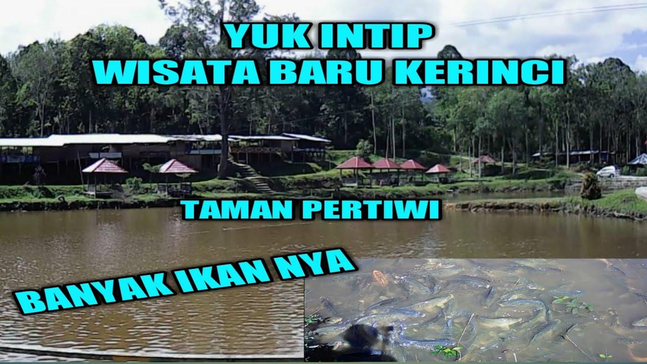 Wisata Alam Taman Pertiwi Kerinci Vlog Objek Wisata Taman Pertiwi Youtube