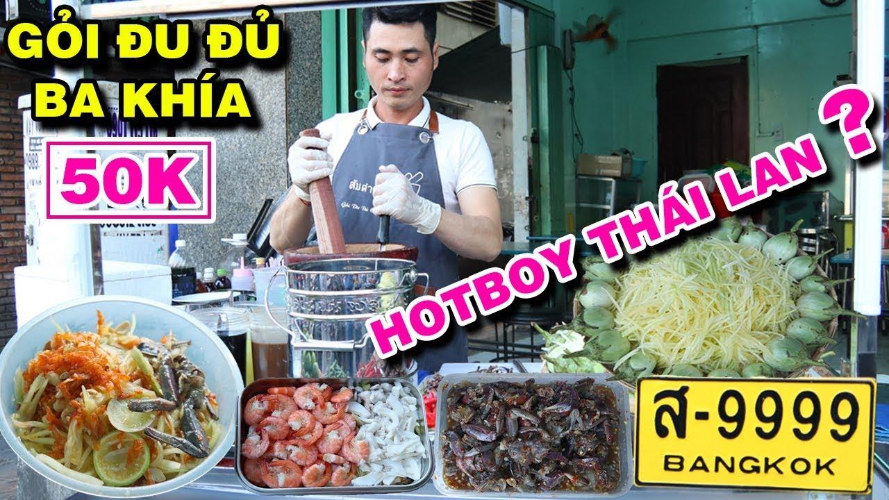 HOT BOY Ở Thái Về Việt Nam Bán GỎI THÁI Gây Sốt Sài Gòn Khách Mua Nườm Nượp | PM FOOD TRAVEL