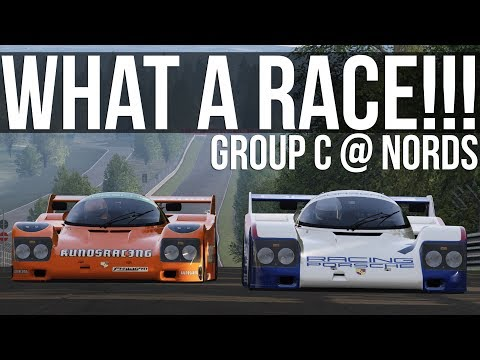 Assetto Corsa - This Race Was So Tense! | Group C Nordschleife Battle