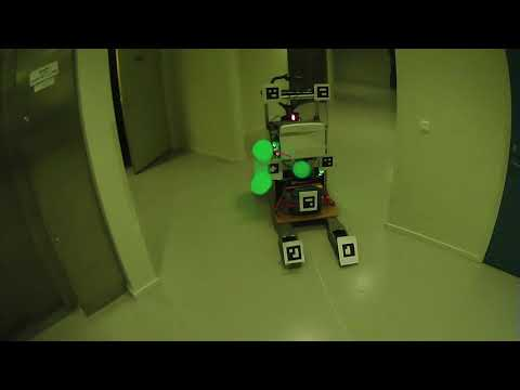 COMMUNICATING MOTION INTENTIONS IN HUMAN ROBOT INTERACTION