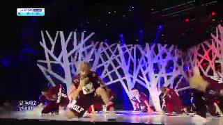 Video EXO - WOLF @ SBS Inkigayo 130721 download MP3, 3GP, MP4, WEBM, AVI, FLV Mei 2018