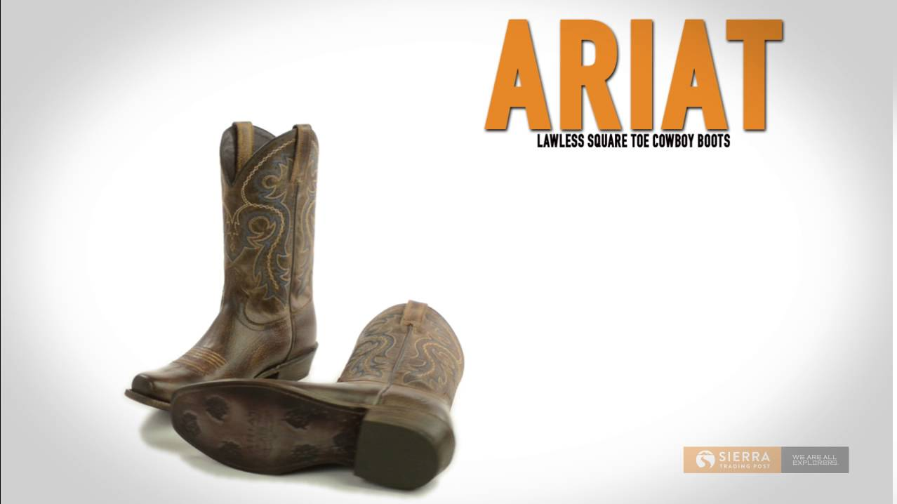 Ariat Boot Repair - Boot Hto