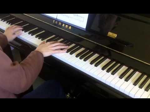 ABRSM Piano 2013-2014 Grade 7 C:3 C3 Shostakovich Allegretto Op.5 No.1 Performance