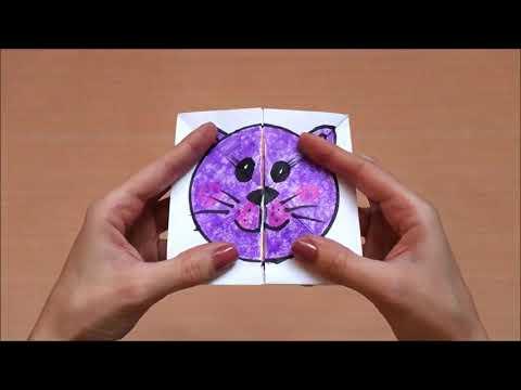 DIY MAGIC CARD USING PAPER