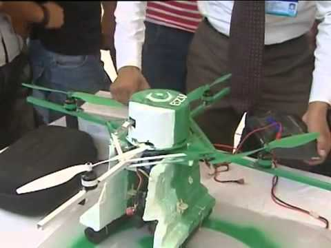 Electrical Engineering Projects Exhibition  12 May 2011- BZU Aerial Robot (Drone) 2011