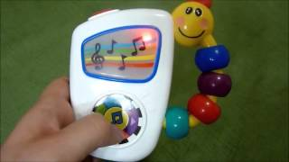 Review Baby Einstein Take Along Tunes Musical Toy (Test of toy)