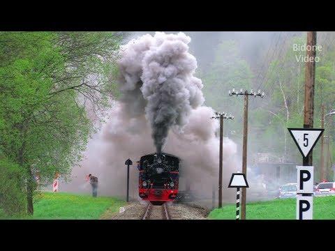 Dampfloks im Erzgebirge - Steam Trains - Pre nitztalbahn -