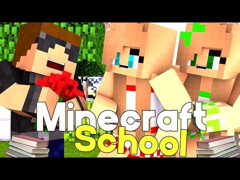 "Flirting with Cheerleader | Minecraft School [S6: Ep.7] ""Minecraft Roleplay"""