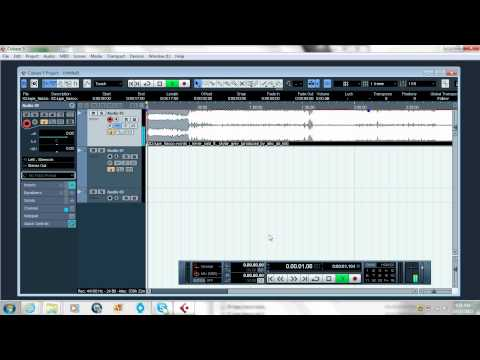 How to Record on Cubase (BASIC TUTORIAL)