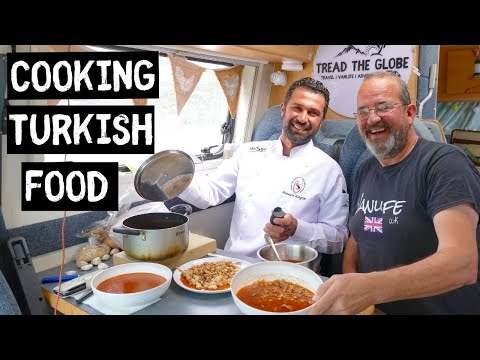 Cooking TRADITIONAL Turkish Food Recipes | VAN LIFE Cook Along.