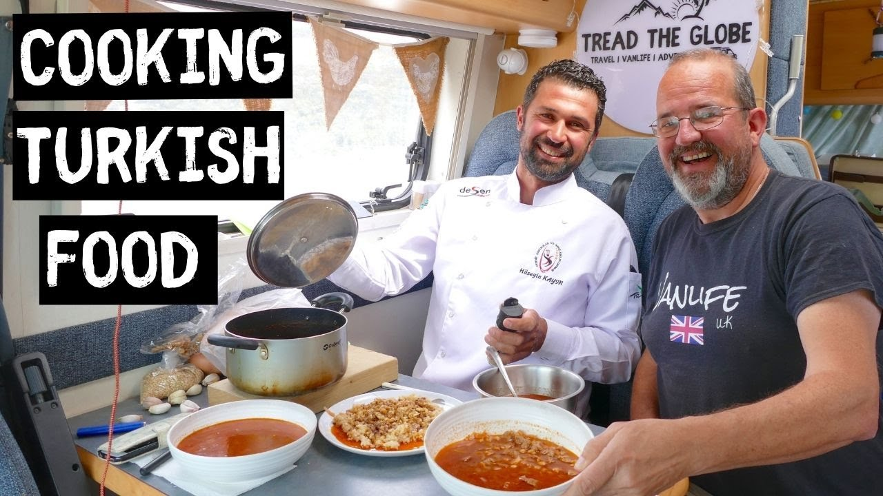 Cooking TRADITIONAL Turkish Food Recipes | VAN LIFE Cook ...