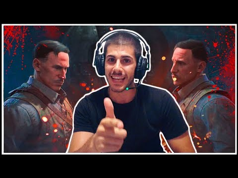 VÍDEO-REACCIÓN INTRO BLOOD OF THE DEAD || ¡Acertamos! (Call of Duty Black Ops 4 Zombies)