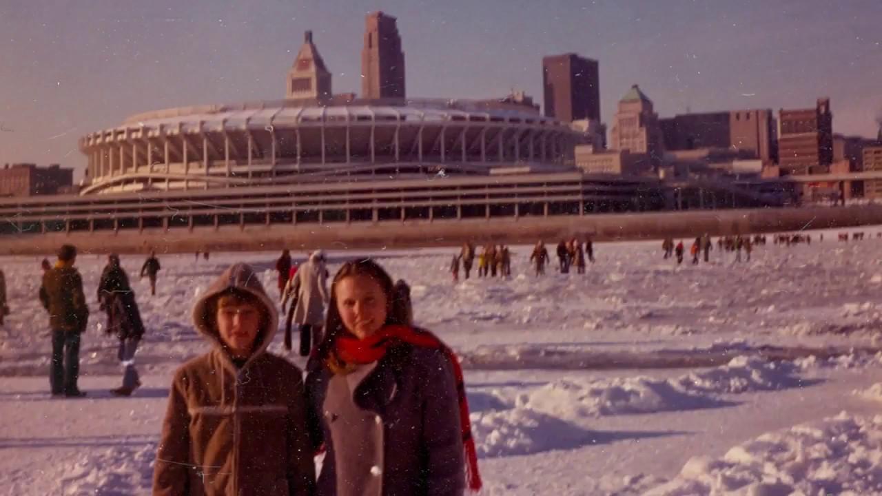 40th Anniversary Of Record Cold Frozen Ohio River In Cincinnati