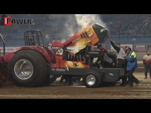 3.5 ton Superstock impressie Indoor Arnhem Tractor Pulling Gelredome 2010 - Agrio