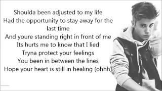 Justin Bieber ft Poo Bear   Hard 2 Face Reality letra lyrics