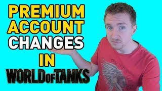 Premium Account Changes in World of Tanks