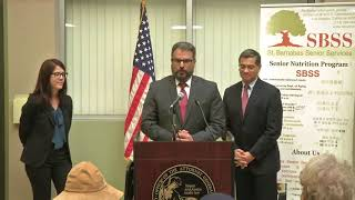 Attorney General Becerra Announces New Effort to Protect Seniors from Identity Theft and Fraud thumbnail