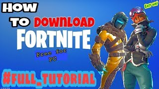 How to download Fortnite for pc for free | Free download Fortnite [HINDI] ||
