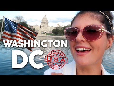 WASHINGTON DC TOUR // VLOG Day in the USA!