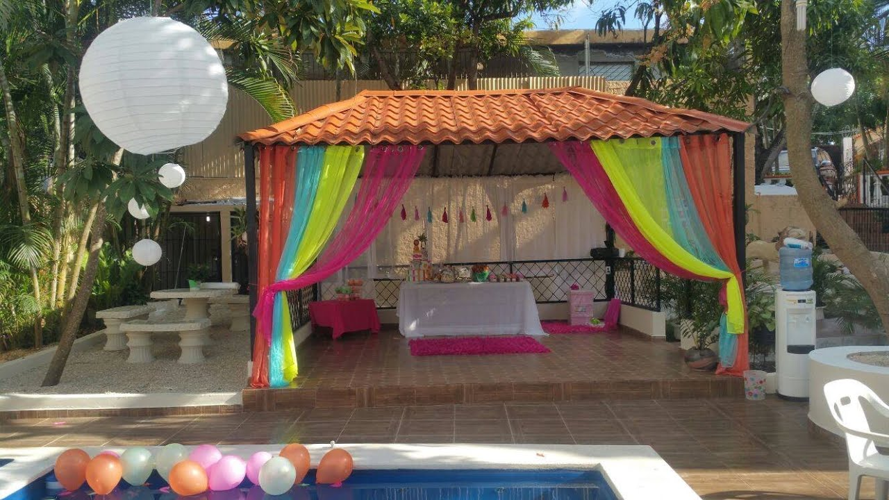 Baby shower el parque de hilary liss de parte de su fam for Decoracion de parques