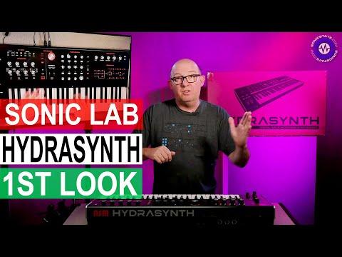 New Polysynth - HYDRASYNTH - From ASM - Sonic LAB First Look
