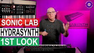 New Polysynth - HYDRASYNTH - From ASM - Sonic LAB First Look