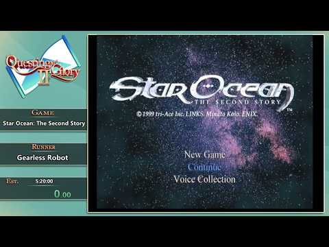 Questing for Glory 2: Star Ocean: The Second Story Any% Claude by GearlessRobot