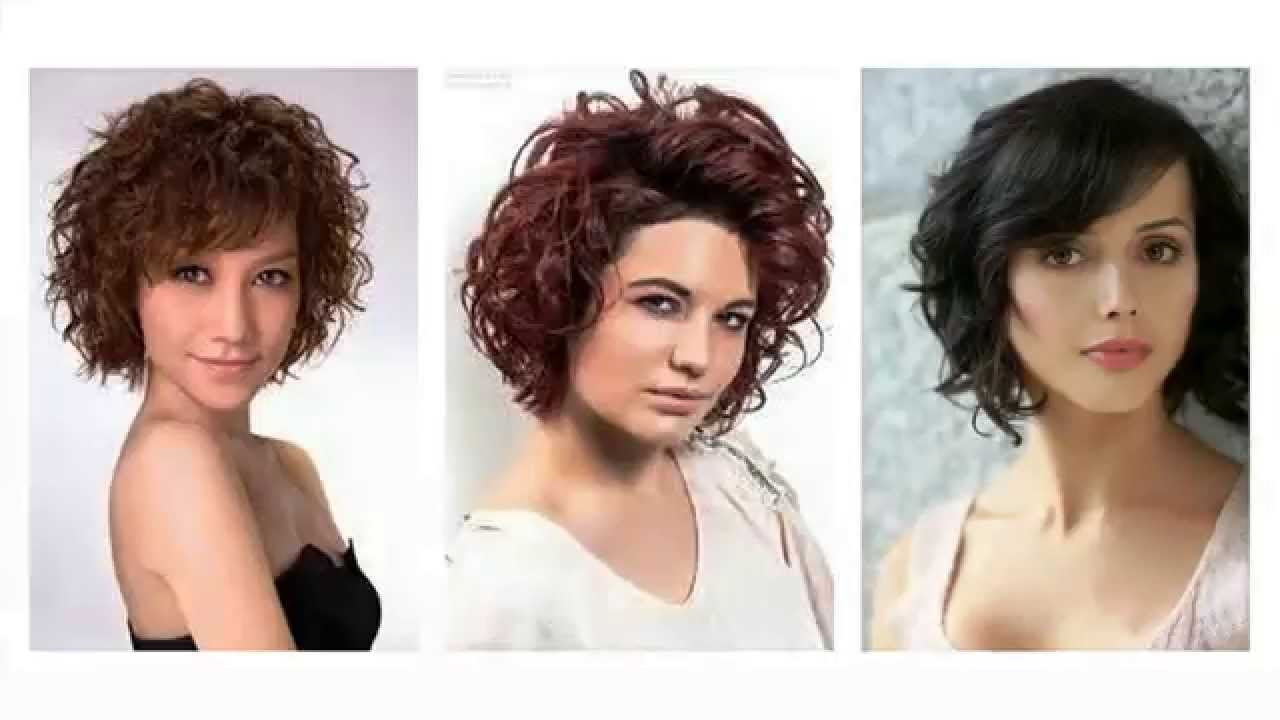 Kurzhaarfrisuren mit locken 2016
