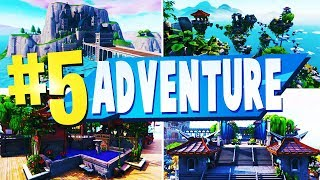 TOP 5 Best ADVENTURE Creative Maps In Fortnite | Fortnite Adventure Map CODES