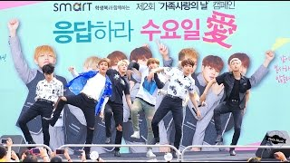 방탄소년단 BTS[4K직캠] 불타오르네 FIRE@20160604 Rock Music