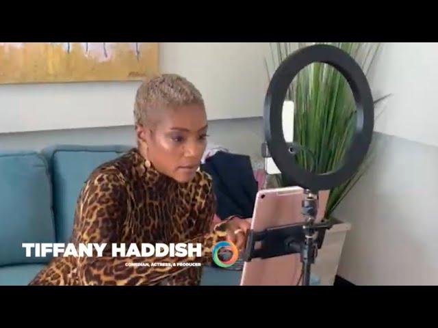 Tiffany Haddish Crashes SOWA Zoom Call