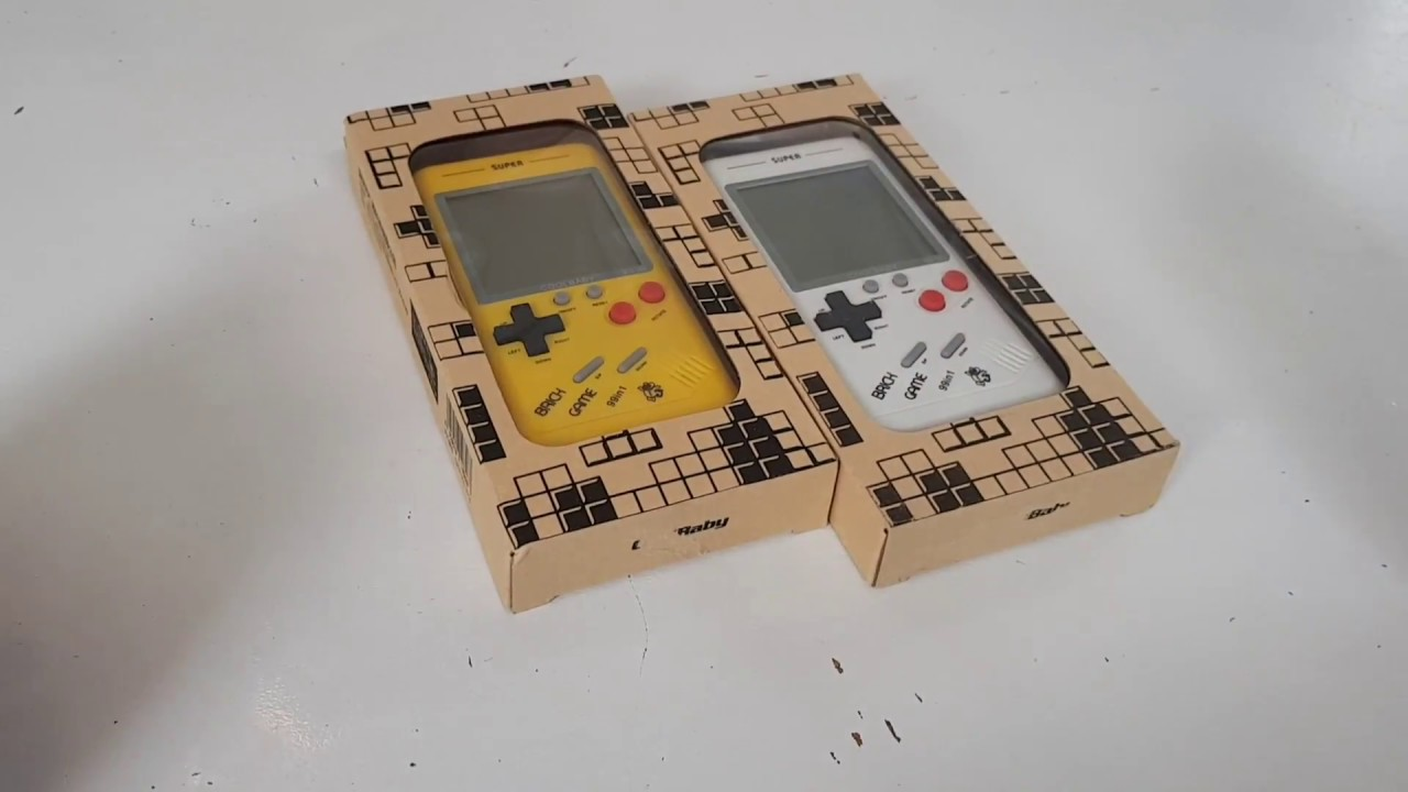 COOLBABY RS 99 BRICK GAME IN 1 Gameboy Design