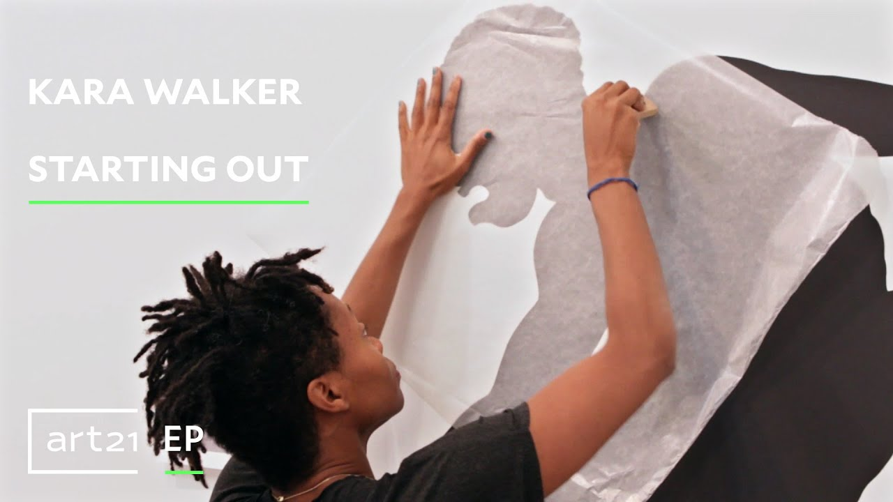 "Kara Walker | Starting Out | Art21 ""Exclusive"""