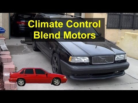 Climate Control Electric Blend Door Motors, Volvo P80, 850, S70, V70, Etc. - VOTD