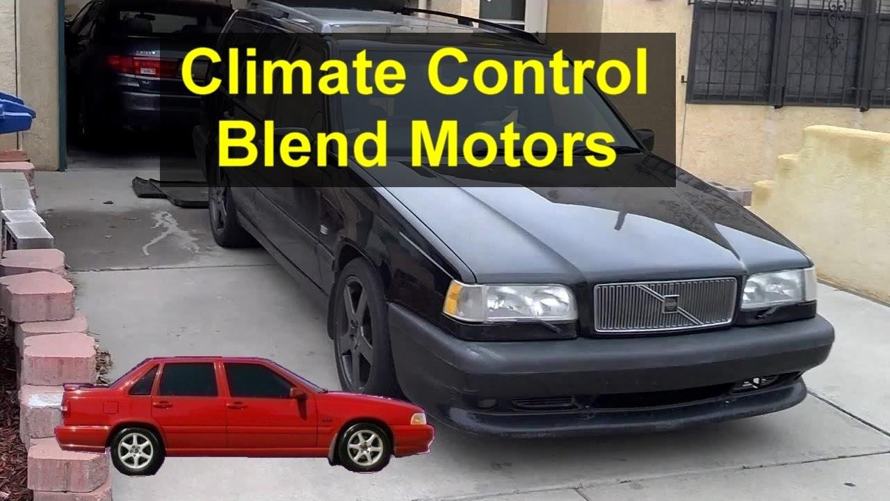 Climate Control Electric Blend Door Motors Volvo P80 850 S70 V70 96 Hvac Blower Wiring Etc Votd