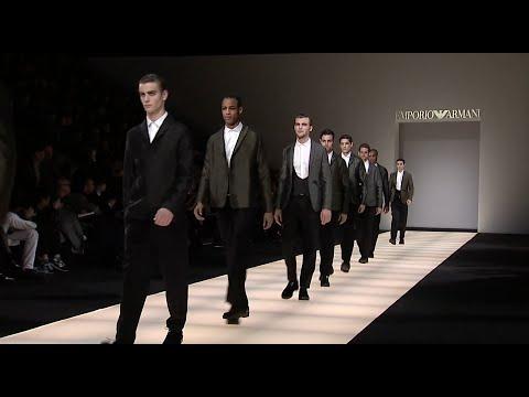 Emporio Armani FallWinter 2014-2015 Collection – Milan Fashion Week