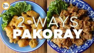 Chicken and Qeema Pakora Recipes by Food Fusion