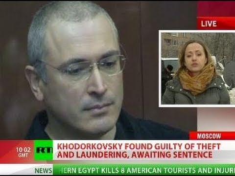 Ex-tycoon Khodorkovsky found guilty in second trial