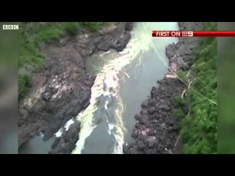 Woman Survives Bungee Jump Snap into Crocodile Infested Zambezi River