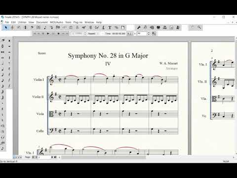 Page Layout for the Score - Systems and Printing Size
