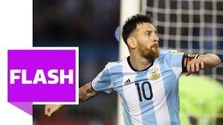 Messi-Elfer rettet Argentinien den Sieg gegen Chile