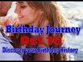 Birthday Journey October 15 New