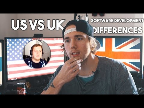 UK VS US Software Development (THE DIFFERENCES)