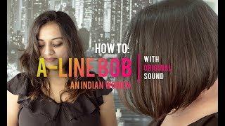 Indian A-Line Bob haircut | short haircut