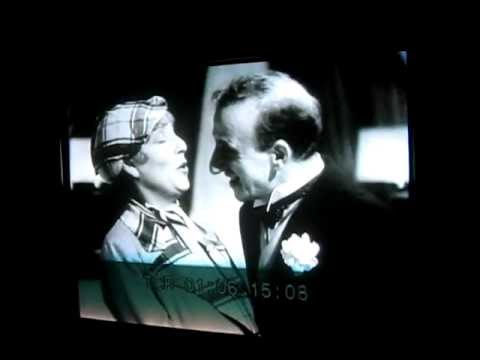 1934 Jimmy Durante & Polly Moran - Fly Away To Iowa - Hollywood Party Deleted Scene