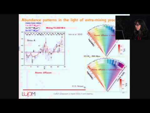 CoRoT3-KASC7 #25 - A. Palacios - Modelling transport processes in radiative stellar interiors