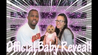 MEET OUR BABY GIRL!! *FACE REVEAL*
