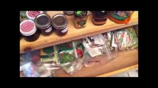 Organizing My Food Storage Prepper's Pantry Project - Part 1